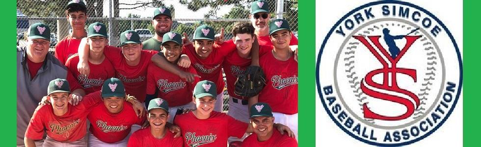 Richmond Hill Phoenix 15U Rep Team Wins 2019 YSBA Regular Season Title and YSBA Playdown Tournament