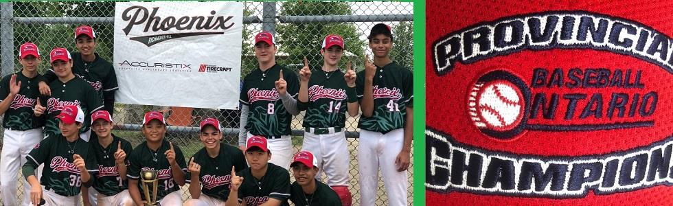 Richmond Hill Phoenix 15U Rep Team Wins Provincial Championships