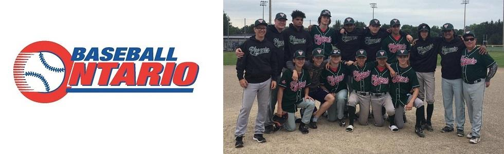 Phoenix Minor Midget 16U Team Finishes Top 4 in Ontario at OBA Provincials