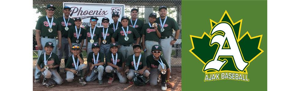 Richmond Hill Phoenix 11U Major Mosquito AA takes Second Place at Ajax Tournament