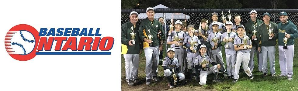 Richmond Hill Phoenix Select Mosquito Gold Team OBA Finalists